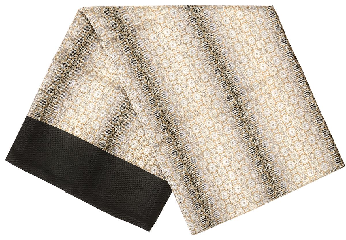ШарфRo02G138-3049-1Стильный шарф Vittorio Richi изготовлен из полиэстера и шелка. Двусторонний текстильный шарф оформлен мелким рисунком. Края выполнены из однотонной ткани.