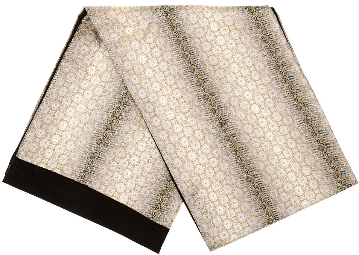 ШарфRo02G100-3049-1Стильный шарф Vittorio Richi изготовлен из полиэстера и шелка. Шарф оформлен мелким рисунком. Края и внутренняя сторона выполнены из мягкой однотонной ткани.