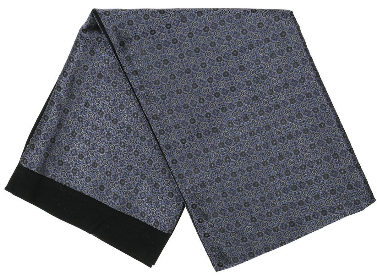 ШарфRo02G100-3050-5Стильный шарф Vittorio Richi изготовлен из полиэстера и шелка. Шарф оформлен мелким рисунком. Края и внутренняя сторона выполнены из мягкой однотонной ткани.