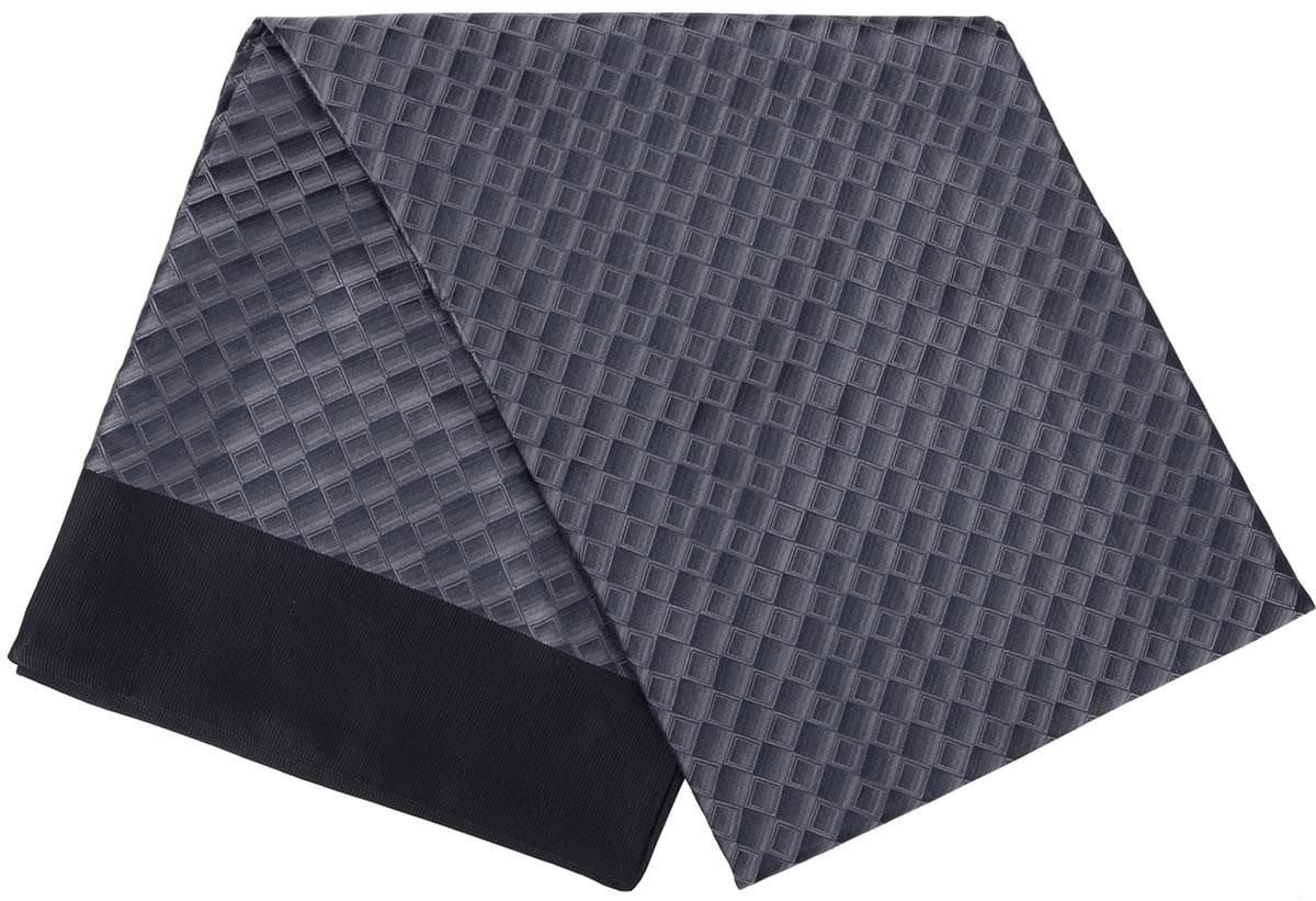 ШарфRo02G138-3077-2Стильный шарф Vittorio Richi изготовлен из полиэстера и шелка. Двусторонний текстильный шарф оформлен мелким рисунком. Края выполнены из однотонной ткани.