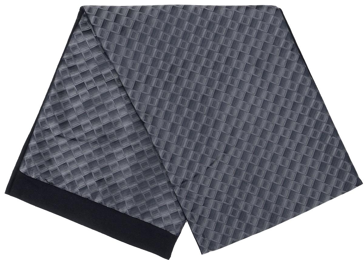 ШарфRo02G100-3077-2Стильный шарф Vittorio Richi изготовлен из полиэстера и шелка. Шарф оформлен мелким рисунком. Края и внутренняя сторона выполнены из мягкой однотонной ткани.