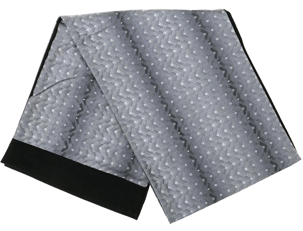 ШарфRo02G100-2932-1Стильный шарф Vittorio Richi изготовлен из полиэстера и шелка. Шарф оформлен мелким рисунком. Края и внутренняя сторона выполнены из мягкой однотонной ткани.
