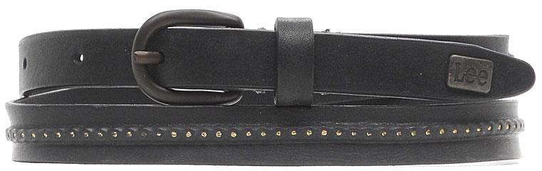 РеменьLP015001Стильный ремень Lee, выполненный из натуральной кожи, оформлен металлическими вставками и пластинкой с названием бренда. Пряжка, с помощью которой регулируется длина ремня, выполнена из качественного металла.