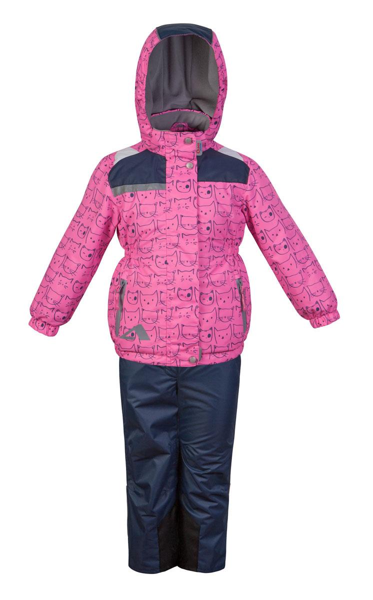 17/OA-2SU510Красивый и технологичный весенне-осенний костюм в ярких неоновых цветах из мембранной коллекции Oldos Active состоит из куртки и брюк. Верхняя ткань с мембраной 3000/3000 обеспечивает водонепроницаемость, при этом одежда дышит. Покрытие TEFLON повышает износостойкость, а также облегчает уход за костюмом. Костюм рассчитан на температуру от +10°С до -5°С, благодаря утеплителю в куртке Hollofan PRO 100 г/м2 и флисовой подкладке в куртке и брюках. Функционал куртки продуман до мелочей: воротник-стойка с мягким флисом, двойная ветрозащитная планка (внешняя застегивается на кнопки и липучки, внутренняя - с защитой подбородка), съемный капюшон с резинкой для лучшего прилегания, манжеты на резинке, прорезные карманы на молнии, внутренний кармашек с нашивкой-потеряшкой, по низу куртки и по талии вшита резинка для лучшего прилегания. Брюки без утеплителя с флисовой подкладкой застегиваются на кнопку в поясе и застежку-молнию. Брюки также очень удобны: резинка по...
