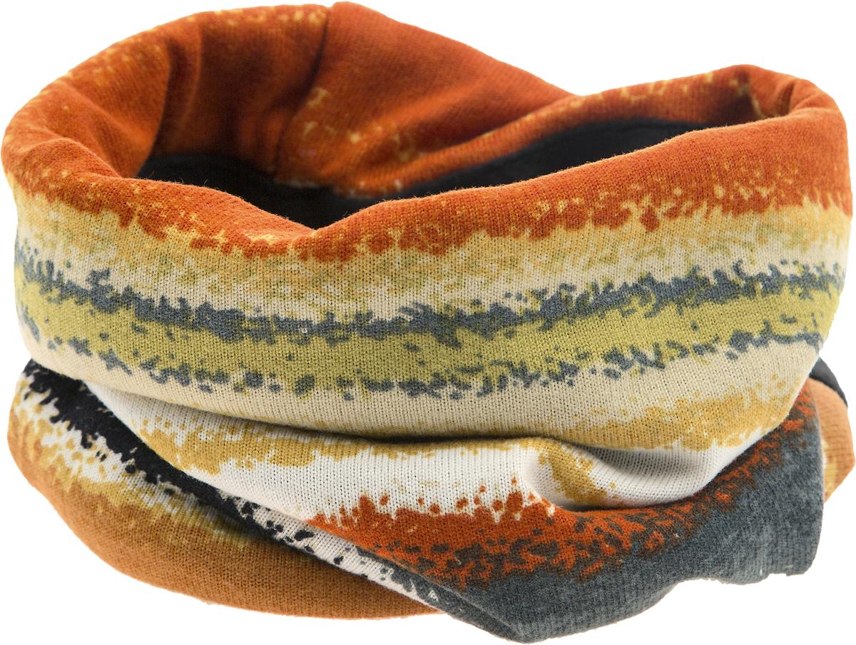 ШарфW - 24Мультишарфы можно встретить под разными названиями: мультишарф, мультибандана, платок трансформер, Baff, но вне зависимости от того, как Вы назовете этот аксессуар, его уникальные возможности останутся неизменными. Вы с легкостью и удобством можете одеть этот мультишарф на голову и шею 12 различными способами. В сильные морозы, пронизывающий ветер или пыльную бурю - с мультишарфом Вы будете готовы к любым капризам природы. Авторская работа.