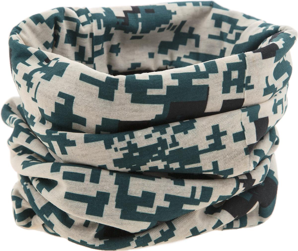 ШарфWL - 06Мультишарфы можно встретить под разными названиями: мультишарф, мультибандана, платок трансформер, Baff, но вне зависимости от того, как Вы назовете этот аксессуар, его уникальные возможности останутся неизменными. Вы с легкостью и удобством можете одеть этот мультишарф на голову и шею 12 различными способами. В сильные морозы, пронизывающий ветер или пыльную бурю - с мультишарфом Вы будете готовы к любым капризам природы. Авторская работа.
