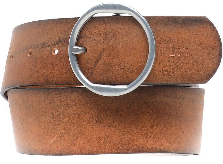 РеменьLP095080Стильный широкий ремень Lee выполнен из натуральной кожи. Пряжка, с помощью которой регулируется длина ремня, выполнена из качественного металла.