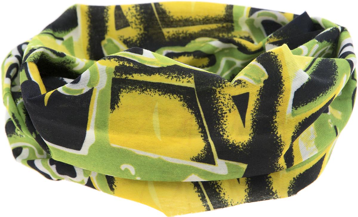 Шарф17-56Мультишарфы можно встретить под разными названиями: мультишарф, мультибандана, платок трансформер, Baff, но вне зависимости от того, как Вы назовете этот аксессуар, его уникальные возможности останутся неизменными. Вы с легкостью и удобством можете одеть этот мультишарф на голову и шею 12 различными способами. В сильные морозы, пронизывающий ветер или пыльную бурю - с мультишарфом Вы будете готовы к любым капризам природы. Авторская работа.