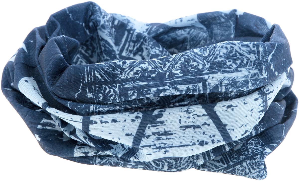 Шарф17-50Мультишарфы можно встретить под разными названиями: мультишарф, мультибандана, платок трансформер, Baff, но вне зависимости от того, как Вы назовете этот аксессуар, его уникальные возможности останутся неизменными. Вы с легкостью и удобством можете одеть этот мультишарф на голову и шею 12 различными способами. В сильные морозы, пронизывающий ветер или пыльную бурю - с мультишарфом Вы будете готовы к любым капризам природы. Авторская работа.