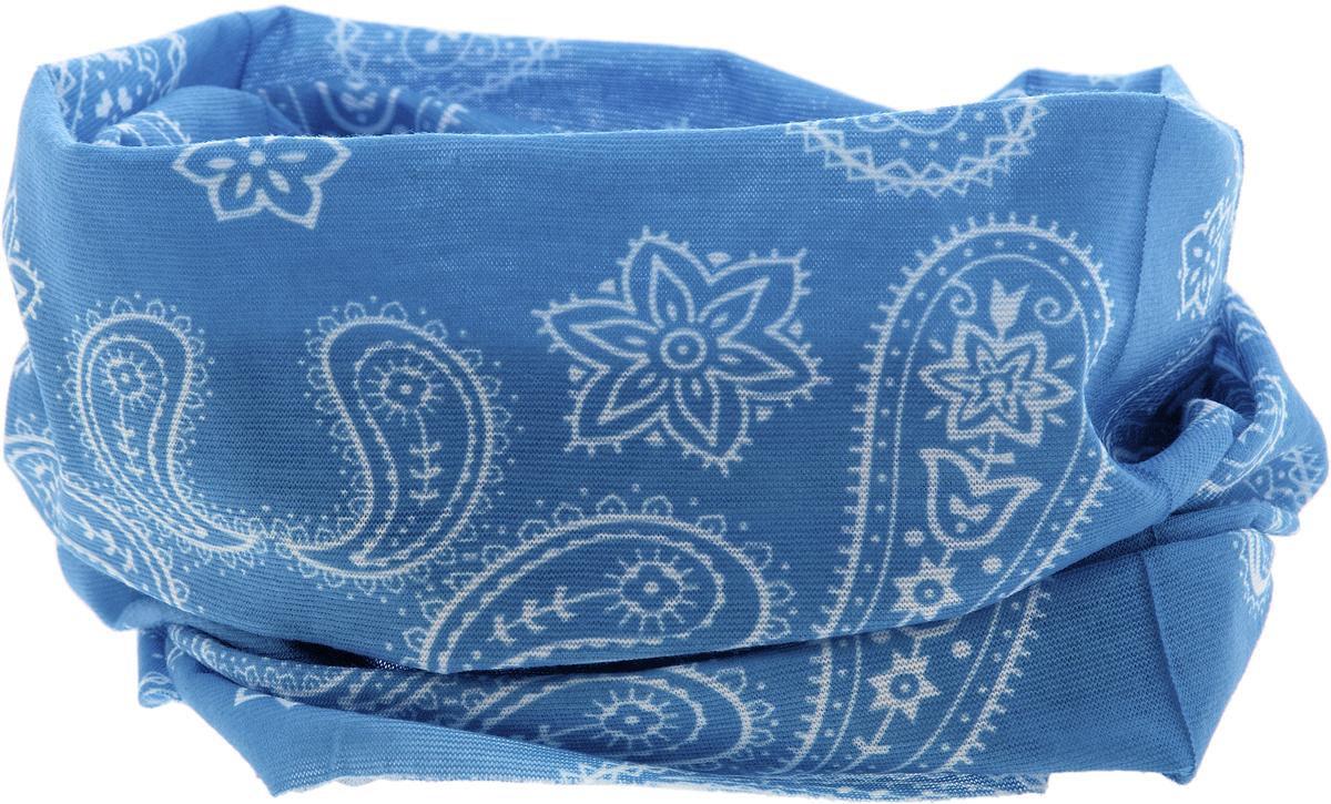 15-33Мультишарфы можно встретить под разными названиями: мультишарф, мультибандана, платок трансформер, Baff, но вне зависимости от того, как Вы назовете этот аксессуар, его уникальные возможности останутся неизменными. Вы с легкостью и удобством можете одеть этот мультишарф на голову и шею 12 различными способами. В сильные морозы, пронизывающий ветер или пыльную бурю - с мультишарфом Вы будете готовы к любым капризам природы. Авторская работа.