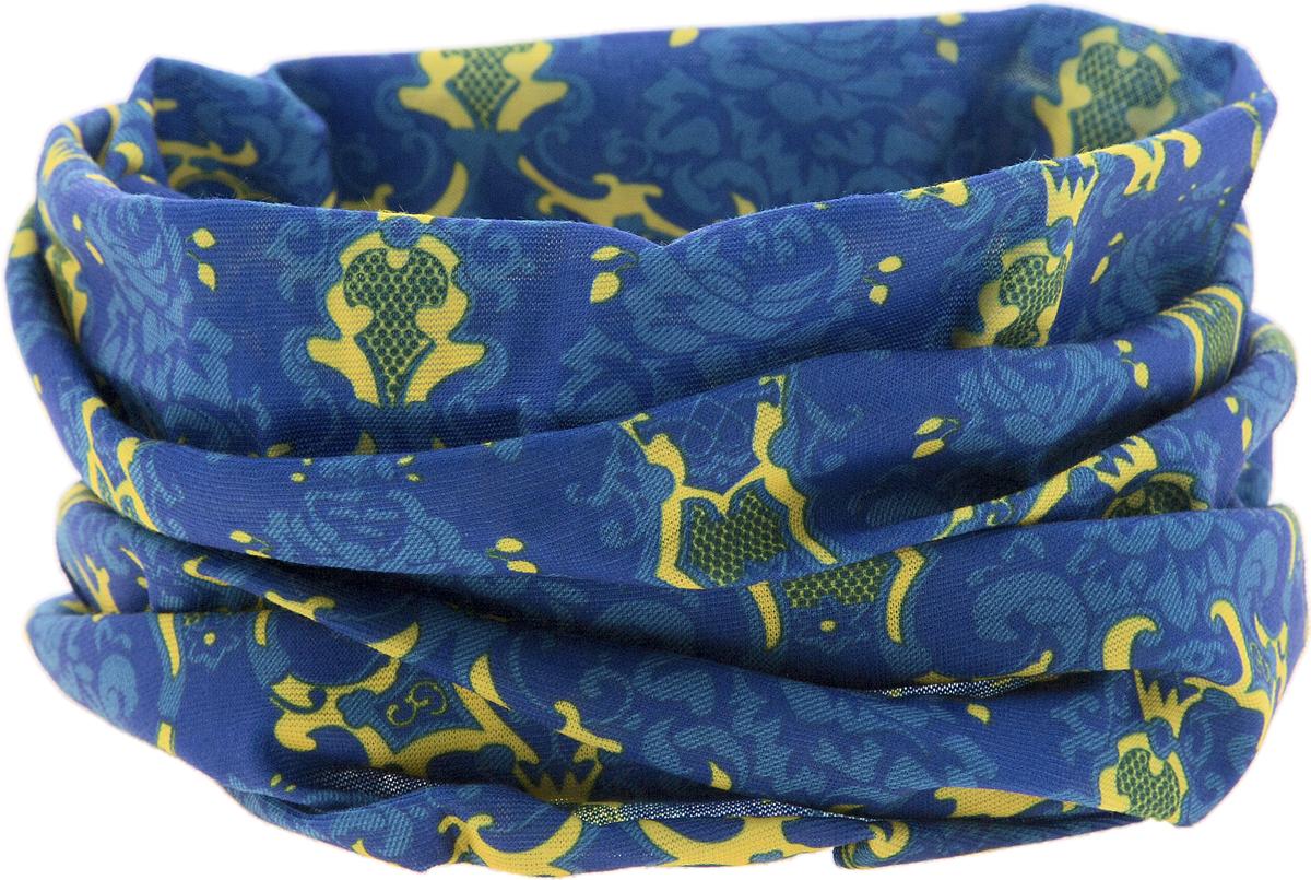 Шарф15-29Мультишарфы можно встретить под разными названиями: мультишарф, мультибандана, платок трансформер, Baff, но вне зависимости от того, как Вы назовете этот аксессуар, его уникальные возможности останутся неизменными. Вы с легкостью и удобством можете одеть этот мультишарф на голову и шею 12 различными способами. В сильные морозы, пронизывающий ветер или пыльную бурю - с мультишарфом Вы будете готовы к любым капризам природы. Авторская работа.