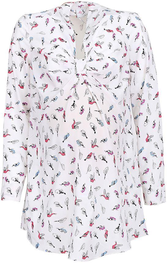 Блузка3070312170Блузка женская свободного силуэта, длиной чуть ниже бедер. Рукава длинные, с манжетами, с регулировкой хлястиками по длине. Спереди застежка-планка на пуговицы и нагрудный карман. Воротник отложной со стойкой.