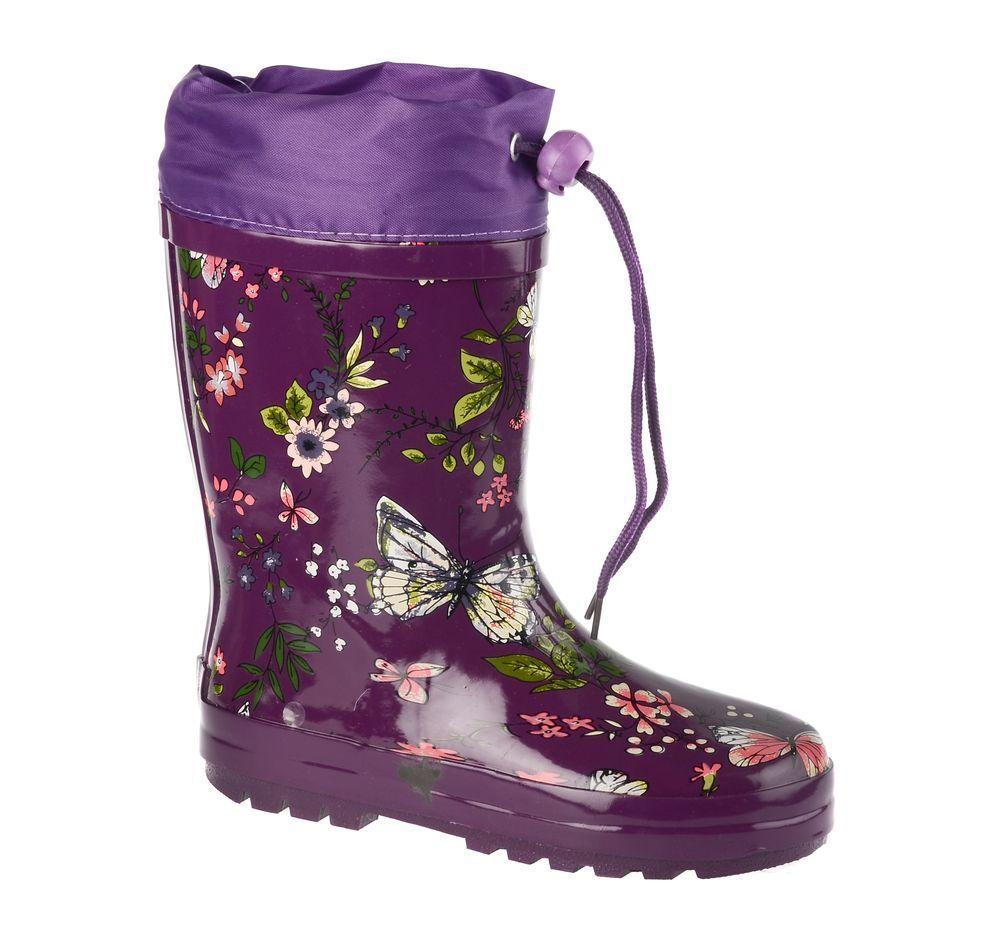 Резиновые сапоги71-HL-0009Резиновые сапоги от Flamingo - идеальная обувь в холодную дождливую погоду для вашего ребенка. Сапоги, выполненные из качественной резины, оформлены цветочным принтом. Подкладка и стелька из текстиля обеспечат комфорт. Текстильный верх голенища регулируется в объеме за счет шнурка с бегунком. Подошва дополнена протектором.