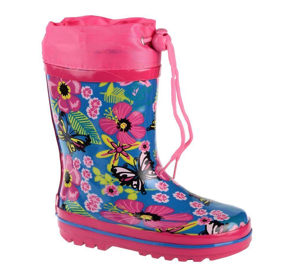 Резиновые сапоги71-HL-0016Утепленные резиновые сапоги от Flamingo - идеальная обувь в холодную дождливую погоду для вашего ребенка. Сапоги, выполненные из качественной резины, оформлены цветочным принтом. Подкладка и стелька из шерсти не дадут ногам вашего ребенка замерзнуть. Текстильный верх голенища регулируется в объеме за счет шнурка с бегунком. Подошва дополнена протектором.