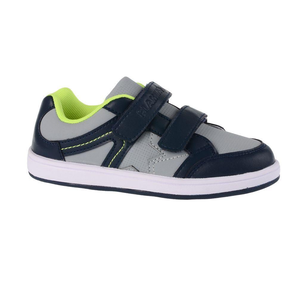 Кроссовки71P-NQ-0028Модные кроссовки для мальчика от Flamingo выполнены из искусственной кожи. Подкладка из текстиля не натирает. Стелька из натуральной кожи комфортна при движении. Ремешки с застежками-липучками надежно зафиксируют модель на ноге. Подошва дополнена рифлением.