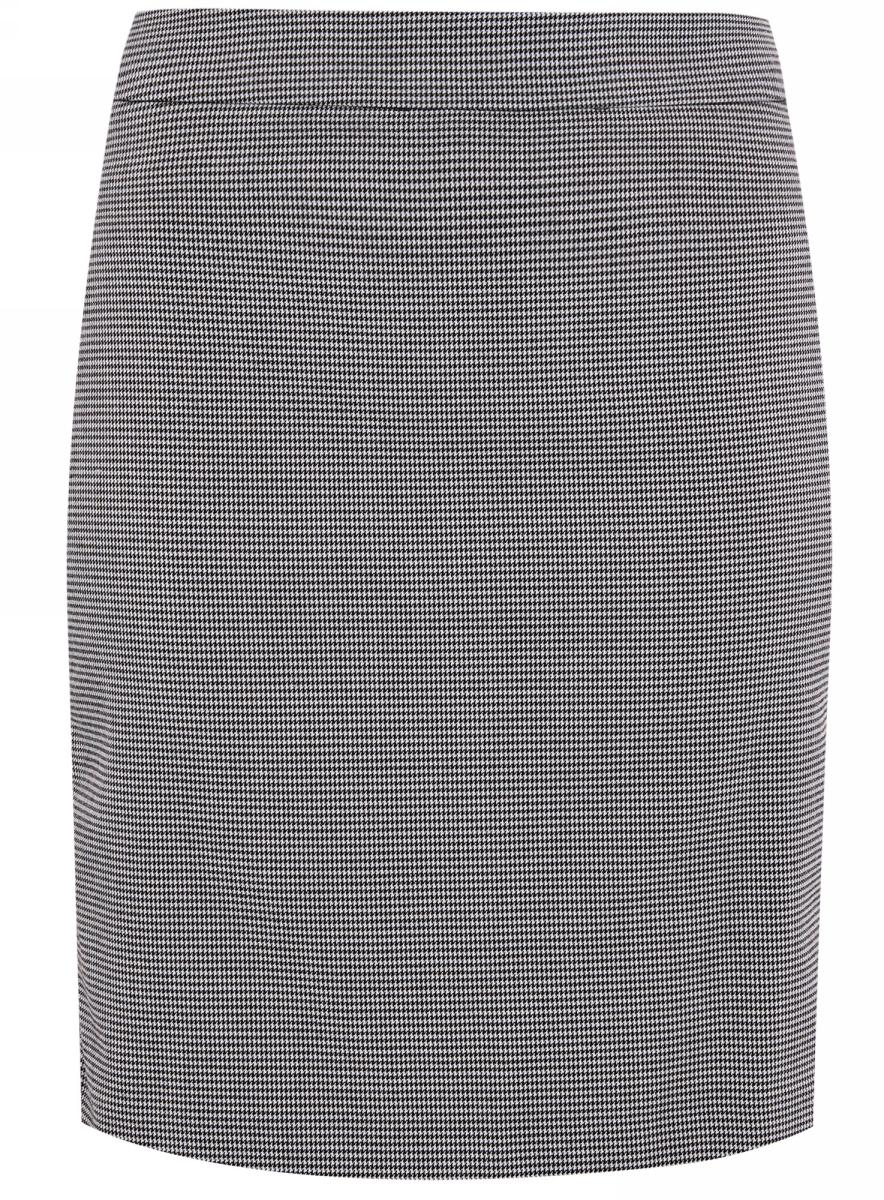 Юбка11601204-2/45735/1029GСтильная юбка прямого кроя выполнена из высококачественного материала. По бокам она дополнена декоративными молниями. Сзади модель застегивается на потайную застежку-молнию, имеется небольшой разрез.