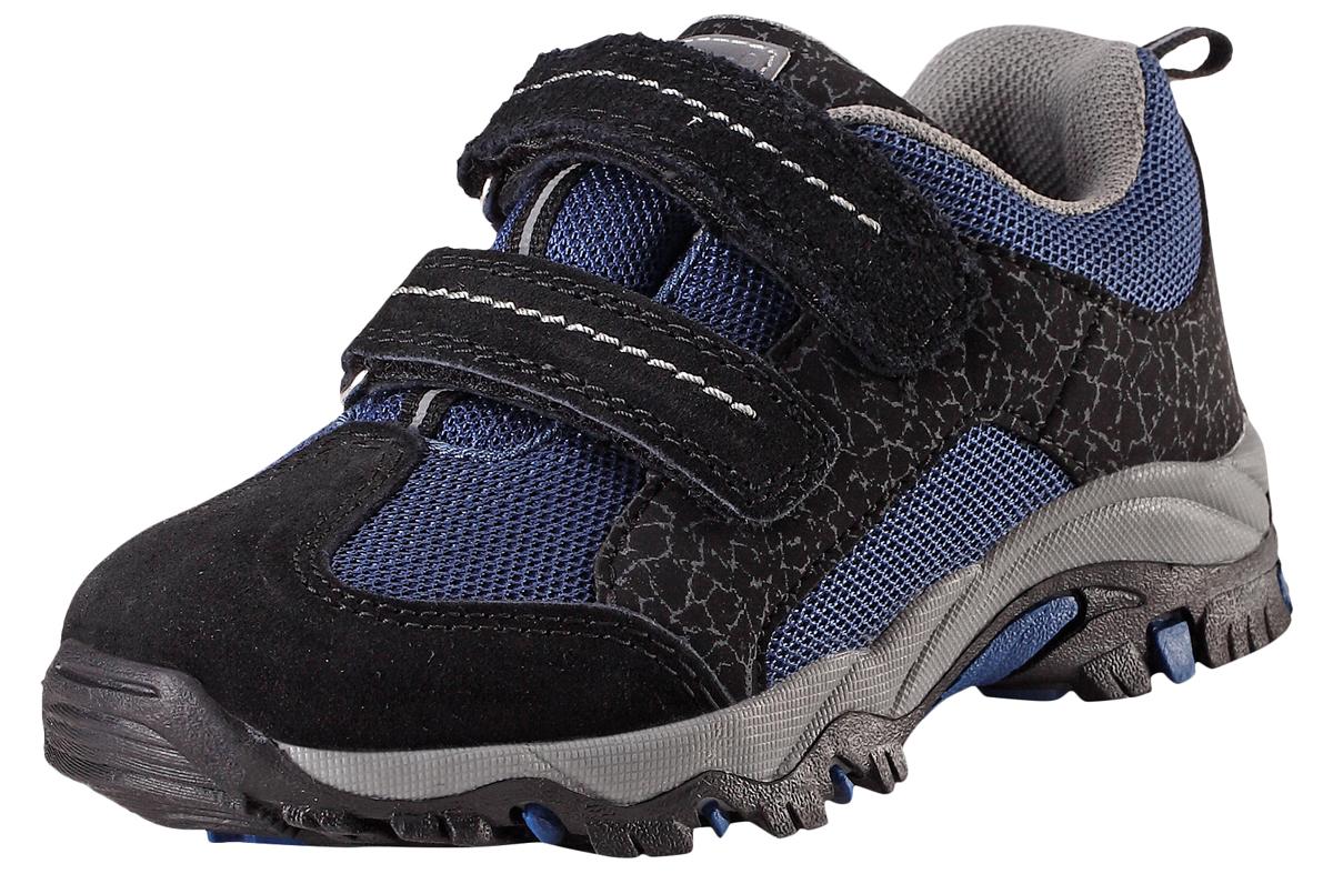 Кроссовки7691034860Детские непромокаемые демисезонные кроссовки. Легкие и дышащие кроссовки для малышей очень практичны, ведь их можно носить с весны и до осени во дворе, в городе или даже в походе. Подошва из термопластичной резины нигде не будет скользить. Снабжены съемными стельками, мягкой текстильной подкладкой и светоотражающими элементами. Благодаря двум удобным ремешкам на липучке, малыши смогут надеть эти ботинки сами и за минуту будут готовы к прогулке.