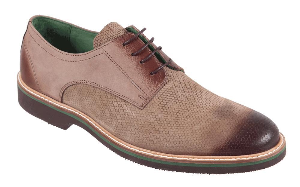 Полуботинки17M 1166/1Стильные мужские полуботинки James Franco, выполненные из нубука, гарантируют удобство и комфорт вашим ногам. Модель на шнуровке оформлена декоративными швами. Данная модель прекрасно сможет подчеркнуть ваш индивидуальный стиль.