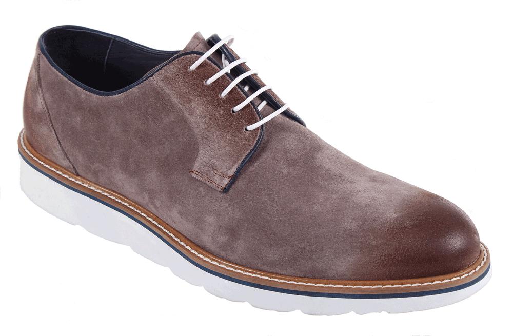 Полуботинки17M 1192/BEJСтильные мужские полуботинки от James Franco, выполненные из нубука, гарантируют удобство и комфорт вашим ногам. Модель на шнуровке. Данная модель прекрасно сможет подчеркнуть ваш индивидуальный стиль.