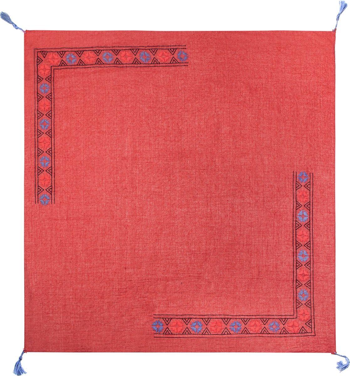 ПлатокLG20-580Платок Labbra, выполненный из хлопка и ткани тенсель, идеально дополнит образ современной женщины. Модель оформлена принтом. Изделие украшено декоративными кисточками. Классическая квадратная форма позволяет носить платок на шее, украшать им прическу или декорировать сумочку. С таким замечательным аксессуаром вы всегда будете выглядеть женственной и привлекательной.