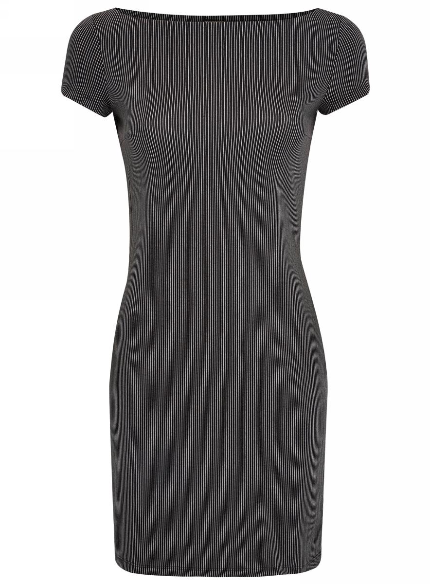 Платье14001117-4/16564/2910SПлатье трикотажное с принтом