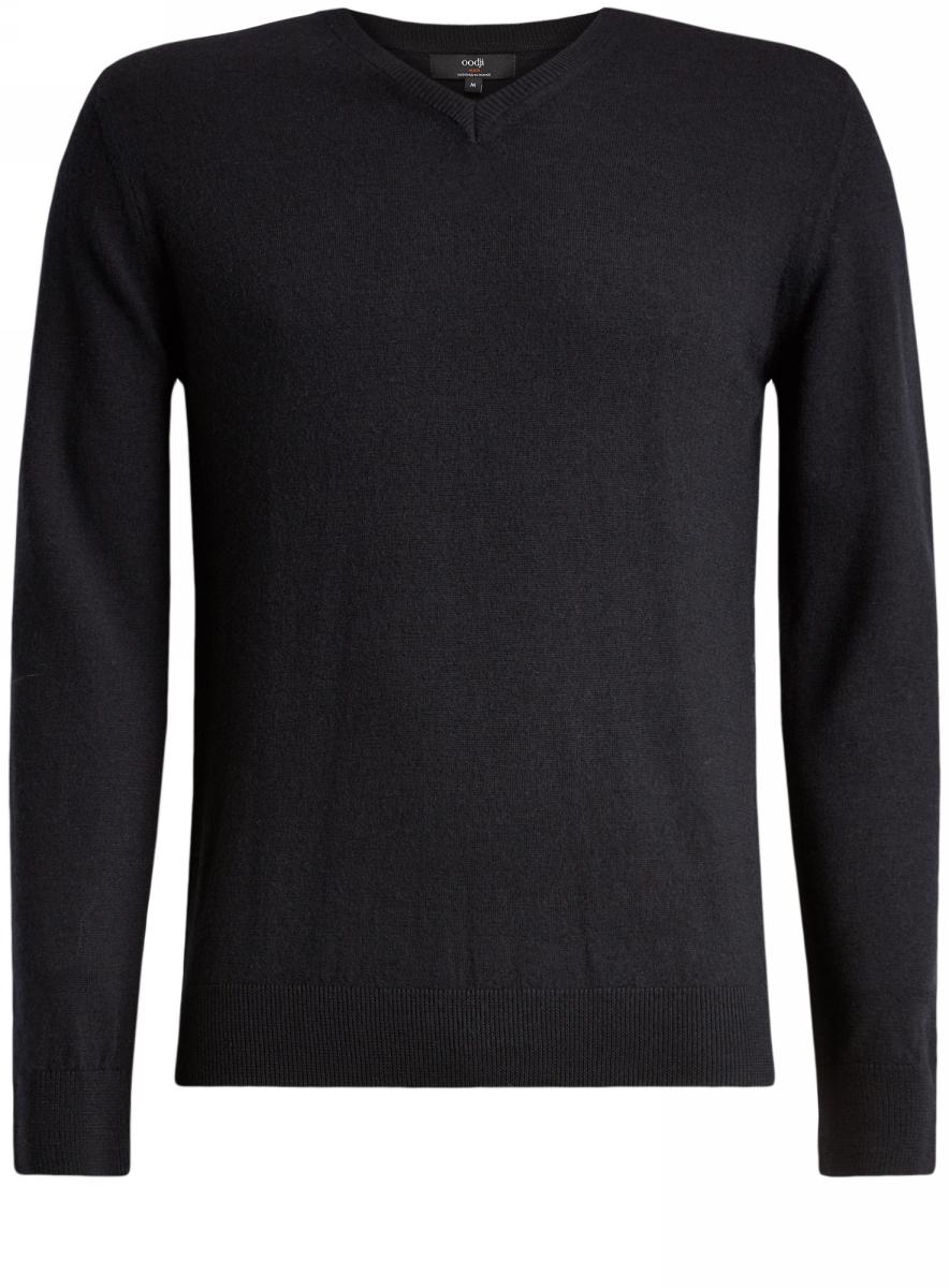 Пуловер4L214005M/44359N/2900NПуловер базовый из шерсти мериноса