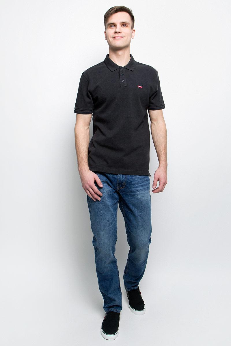 Джинсы2883300200Мужские джинсы Levis® 512 выполнены из высококачественного эластичного хлопка. Джинсы-слим заниженной посадки застегиваются на пуговицу в поясе и ширинку на застежке-молнии, дополнены шлевками для ремня. Джинсы имеют классический пятикарманный крой: спереди модель дополнена двумя втачными карманами и одним маленьким накладным кармашком, а сзади - двумя накладными карманами. Модель украшена декоративными потертостями и мелкими перманентными складками.