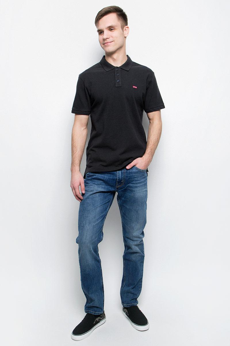 Поло2240100050Классическая футболка-поло свободного покроя.