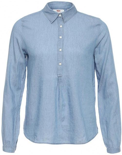 Рубашка2964500010Легкая женственная блузка рубашка с длинным рукавом.