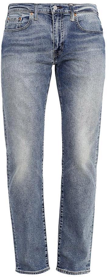 Джинсы2950700110Мужские джинсы Levis® 502 изготовлены из качественного натурального хлопка с добавлением эластана. Джинсы средней посадки застегиваются на молнию и металлическую пуговицу. На поясе имеются шлевки для ремня. Спереди модель дополнена двумя втачными карманами и одним небольшим накладным кармашком, а сзади - двумя накладными карманами. Модель слегка заужена к низу и оформлена эффектом потертости.