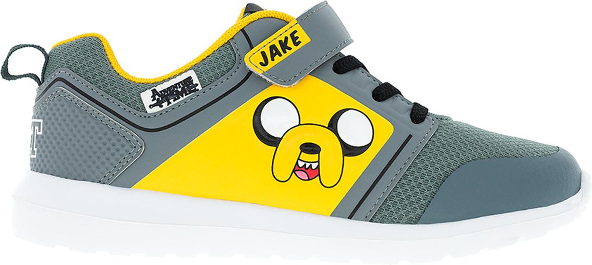 Кроссовки6770BСтильные кроссовки Adventure Time от Kakadu - отличный выбор для вашего мальчика на каждый день. Верх модели выполнен из синтетической кожи и текстиля. Кроссовки оформлены красочным принтом с изображением персонажа мультсериала Время приключений. Ремешок с застежкой-липучкой и шнуровка обеспечивают надежную фиксацию обуви на ноге. Подкладка из текстильного материала обеспечивает комфорт при носке. Съемная анатомическая стелька удобна в эксплуатации и позволяет быстро просушивать обувь. Облегченная подошва выполнена из ЭВА-материала. Рифление на подошве обеспечивает отличное сцепление с любой поверхностью. Модные и комфортные кроссовки - необходимая вещь в гардеробе каждого ребенка.