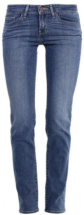 Джинсы1888400670Женские джинсы Levis® выполнены из высококачественного материала. Зауженные джинсы застегиваются на пуговицу в поясе и ширинку на застежке-молнии, дополнены шлевками для ремня. Спереди модель дополнена двумя втачными карманами, одним маленьким накладным, а сзади - двумя накладными карманами.