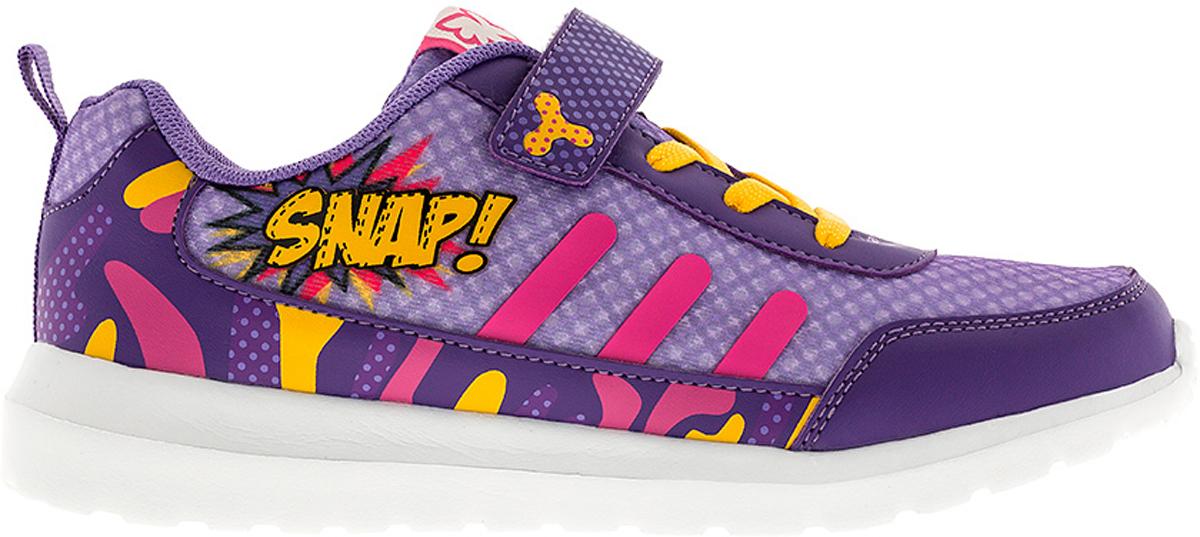 Кроссовки6804CСтильные кроссовки от Kakadu - отличный выбор для вашей девочки на каждый день. Верх модели выполнен из синтетической кожи и текстиля. Кроссовки оформлены красочным принтом и надписями. Ремешок с застежкой-липучкой и шнуровка обеспечивают надежную фиксацию обуви на ноге. Ярлычок на заднике облегчает обувание. Подкладка из текстильного материала создает комфорт при носке. Съемная анатомическая стелька удобна в эксплуатации и позволяет быстро просушивать обувь. Облегченная подошва выполнена из ЭВА-материала. Рифление на подошве обеспечивает отличное сцепление с любой поверхностью. Модные и комфортные кроссовки - необходимая вещь в гардеробе каждого ребенка.