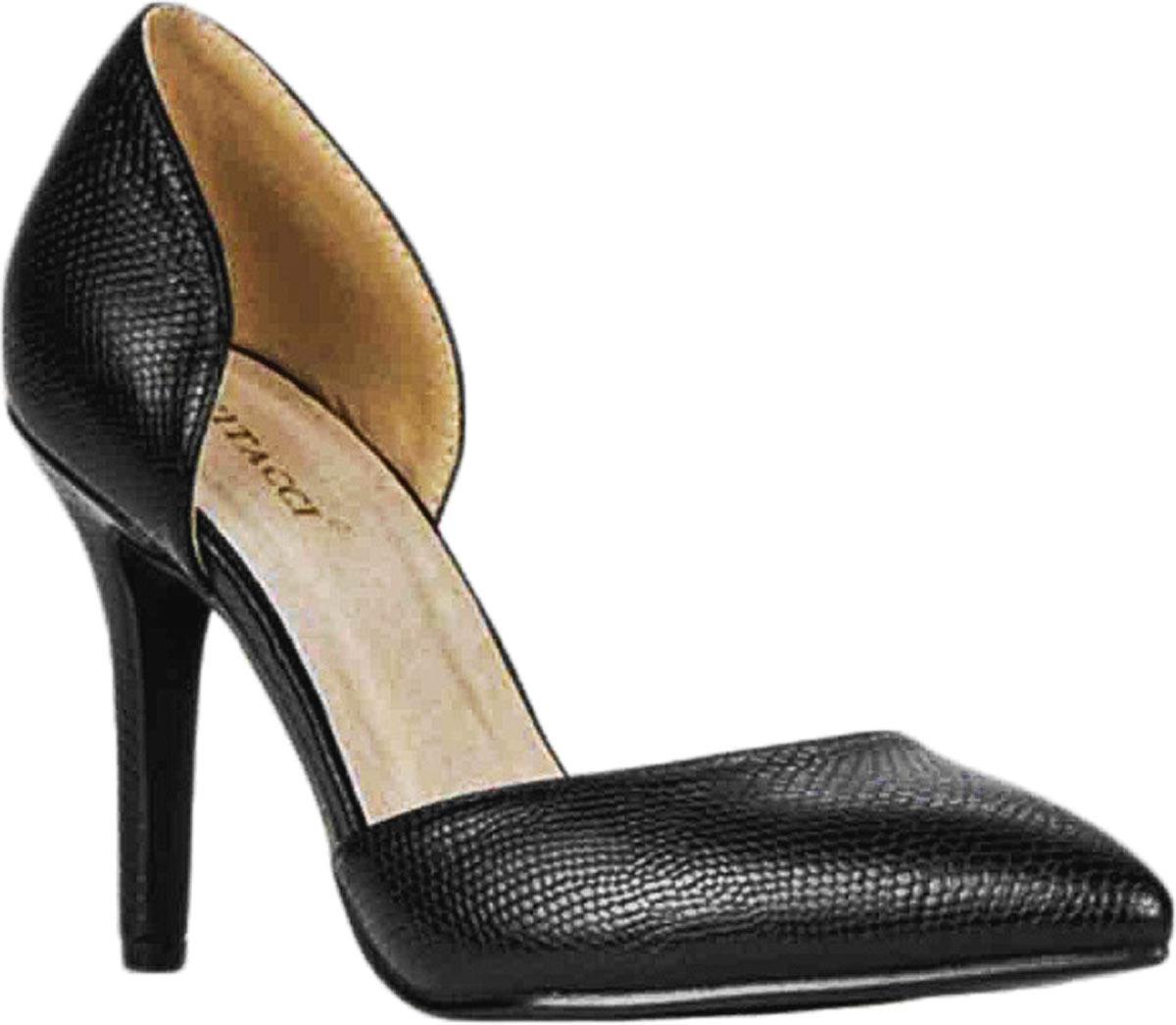 Туфли87000Стильные туфли Vitacci с открытыми боками не оставят вас незамеченной! Модель изготовлена из качественной искусственной кожи. Стелька из натуральной кожи обеспечивает комфорт и удобство при ходьбе. Подошва выполнена с высоким тонким каблуком.