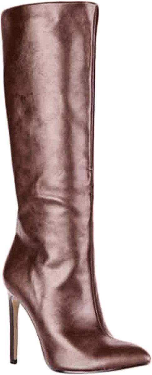 Сапоги83090Стильные женские сапоги от Vitacci займут достойное место в вашем гардеробе. Модель изготовлена из качественной искусственной кожи. Сапоги застегиваются на молнию. Подкладка и стелька из ворсина защитят ноги от холода и обеспечат комфорт. Подошва выполнена с высоким изящным каблуком. Модные сапоги займут достойное место среди вашей коллекции обуви.
