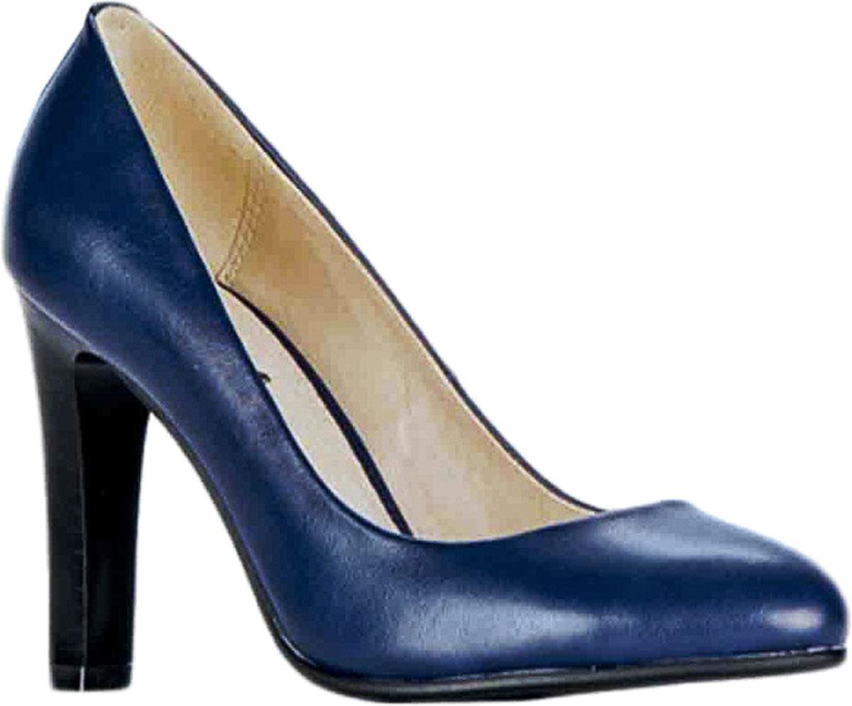 Туфли83428Стильные туфли Vitacci не оставят вас незамеченной! Модель изготовлена из качественной искусственной кожи. Стелька из натуральной кожи обеспечивает комфорт и удобство при ходьбе. Подошва выполнена с высоким устойчивым каблуком.