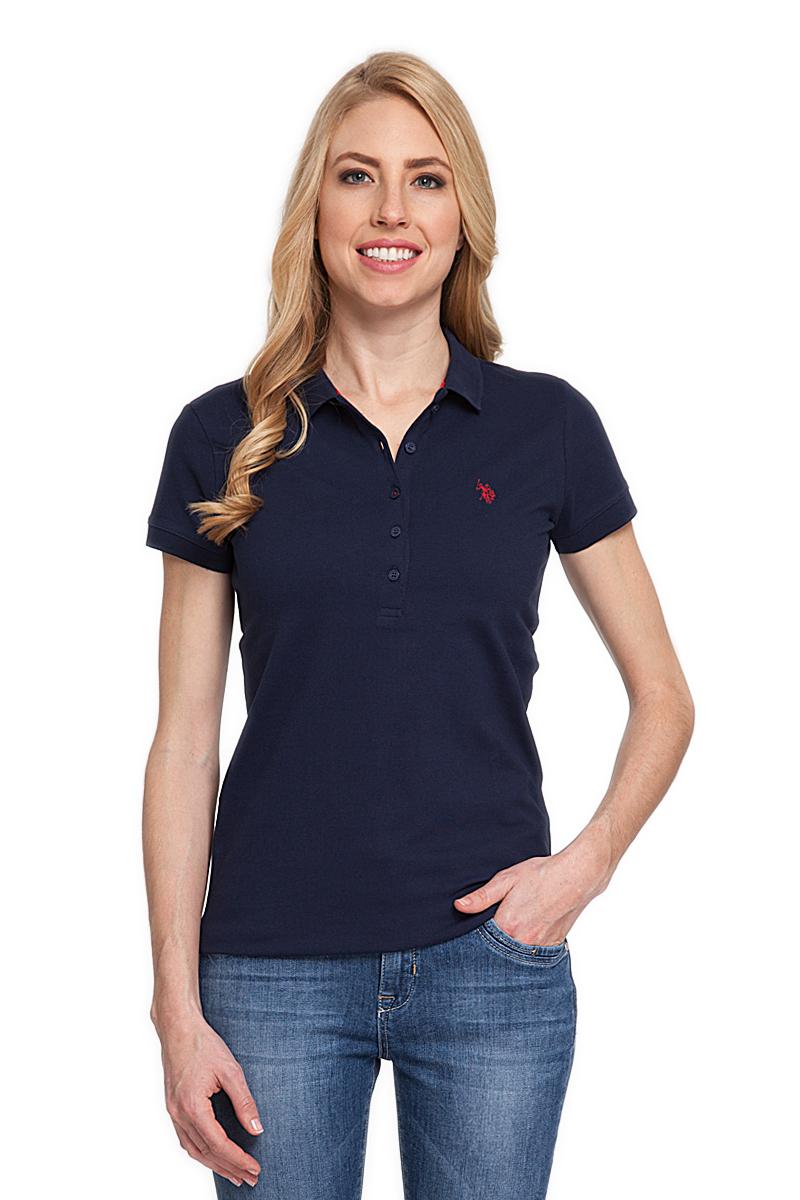 ПолоG082CS011P26TP01IY4Стильная футболка-поло с короткими рукавами и отложным воротником выполнена из натурального эластичного хлопка. На груди модель застегивается на пуговицы.
