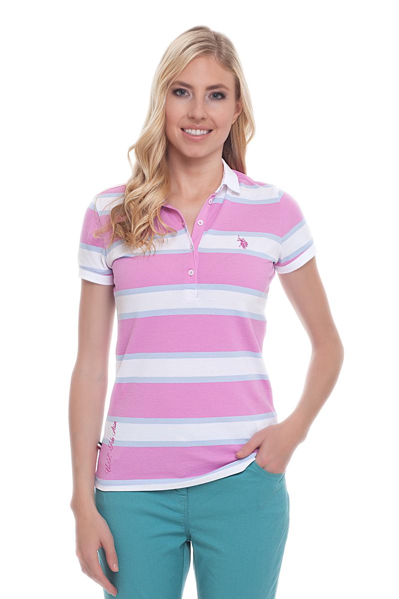 ПолоG082CS011P26Y4026Стильная футболка-поло с короткими рукавами и отложным воротником выполнена из натурального эластичного хлопка. На груди модель застегивается на пуговицы.