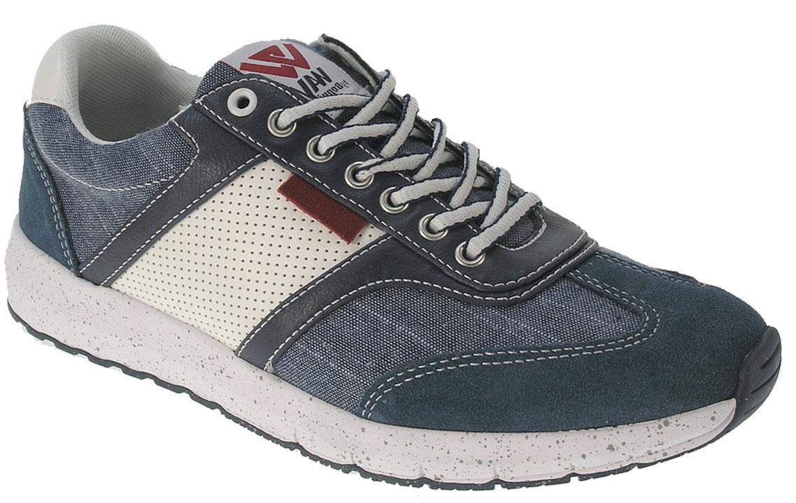 Кроссовки2149460Мужские кроссовки от Beppi выполнены из искусственной кожи и текстиля. Подкладка и стелька из текстиля комфортны при движении. Шнуровка надежно зафиксирует модель на ноге. Подошва дополнена рифлением.