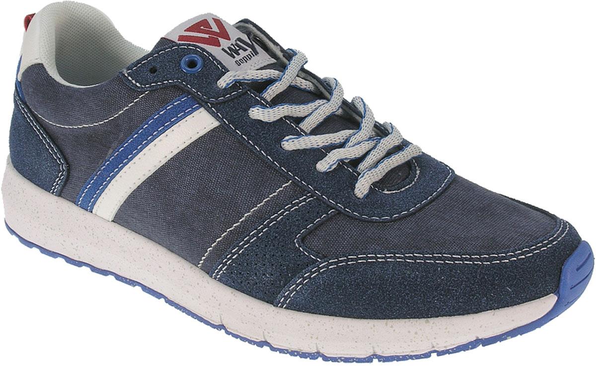 Кроссовки2149470Мужские кроссовки от Beppi выполнены из искусственной кожи и текстиля. Подкладка и стелька из текстиля комфортны при движении. Шнуровка надежно зафиксирует модель на ноге. Подошва дополнена рифлением.