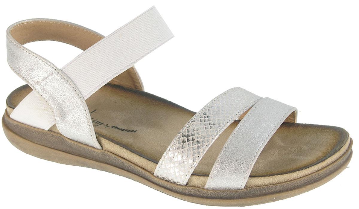 Сандалии2154650Модные женские сандалии от Beppi выполнены искусственной кожи. Эластичный ремешок на подъеме для надежной фиксации модели на ноге. Внутренняя поверхность из искусственной кожи не натирает. Подошва дополнена рифлением.