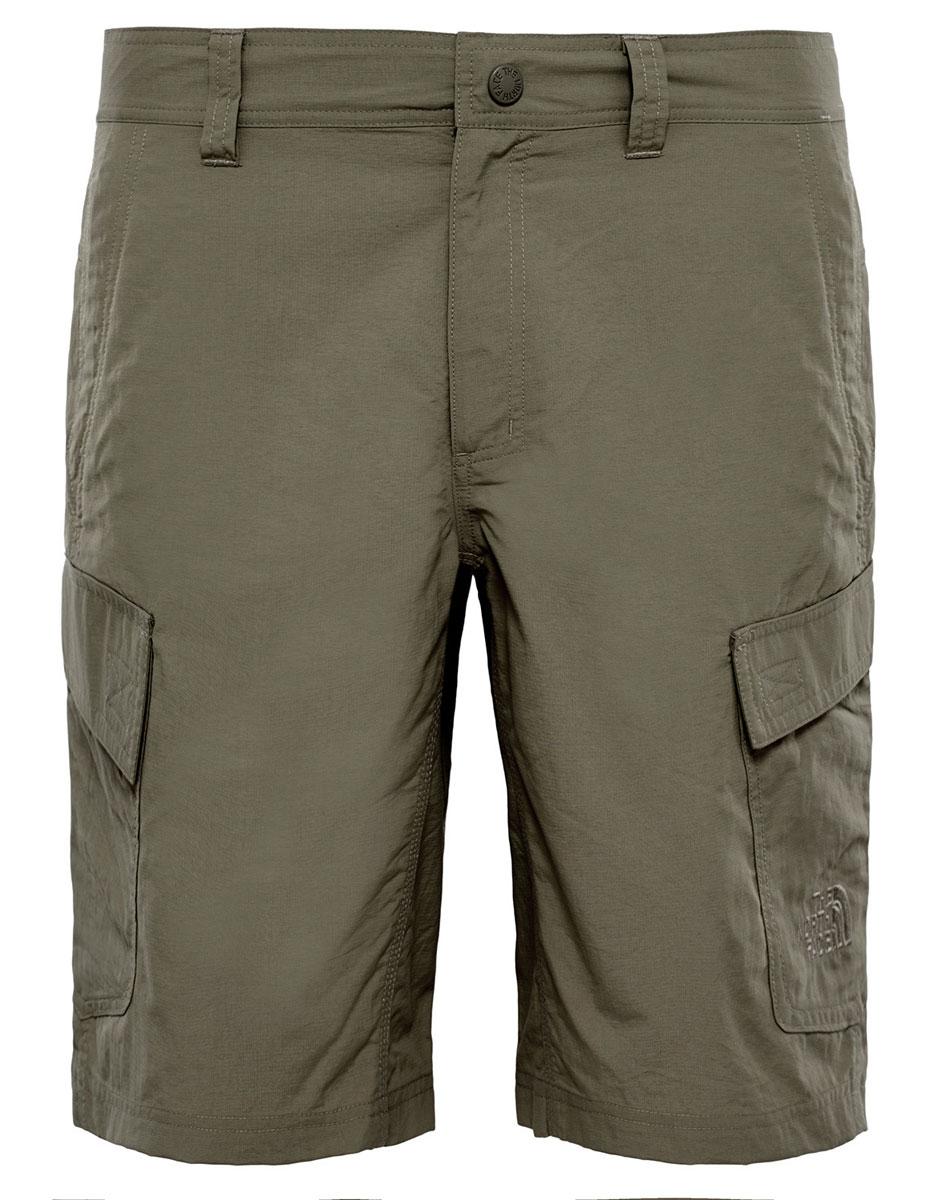 ШортыT0CF720C5The North Face Men's Horizon Cargo Shorts - легкие и удобные шорты для путешествий, обладающие степенью защиты от ультрафиолета UPF 50. Ультралегкая рипстоп-ткань, имеющая экологический сертификат bluesign долговечна и быстро сохнет. Модель застегивается на ширинку с молнией и металлическую кнопку, имеются шлевки для ремня. Шорты дополнены карманами.