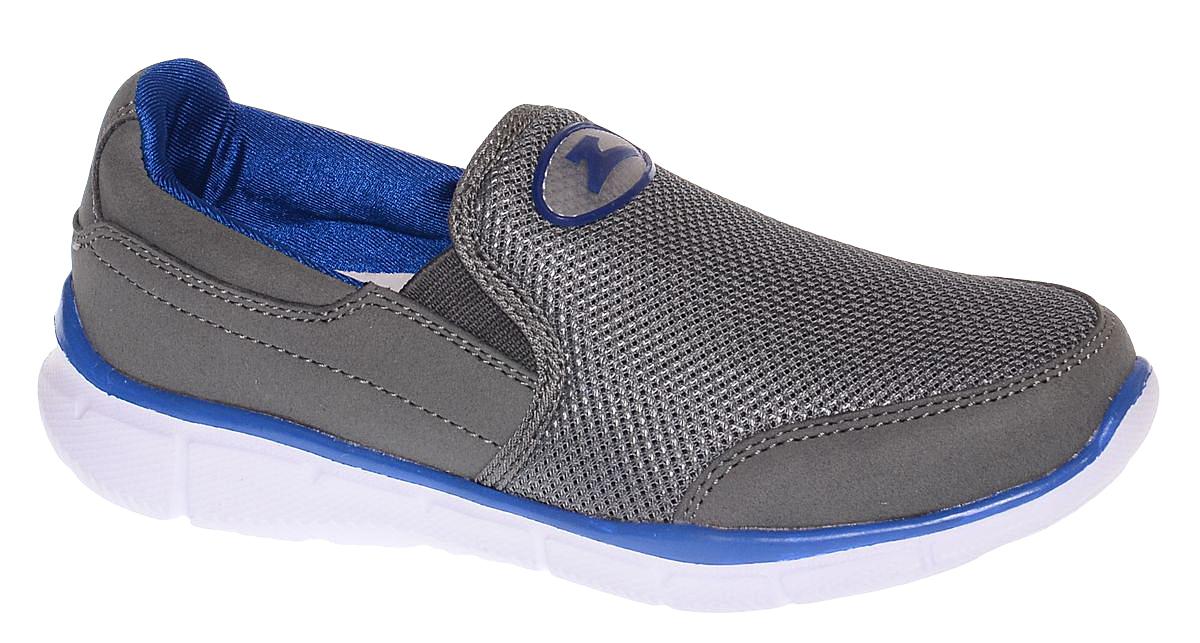 Кроссовки11623-10Стильные кроссовки от Зебра выполнены из дышащего текстиля. На подъеме модель дополнена эластичными вставками для удобства надевания. Внутренняя поверхность из текстиля комфортна при движении. Стелька выполнена из натуральной кожи и дополнена супинатором, который обеспечивает правильное положение ноги ребенка при ходьбе, предотвращает плоскостопие. Подошва с рифлением обеспечивает идеальное сцепление с любыми поверхностями.