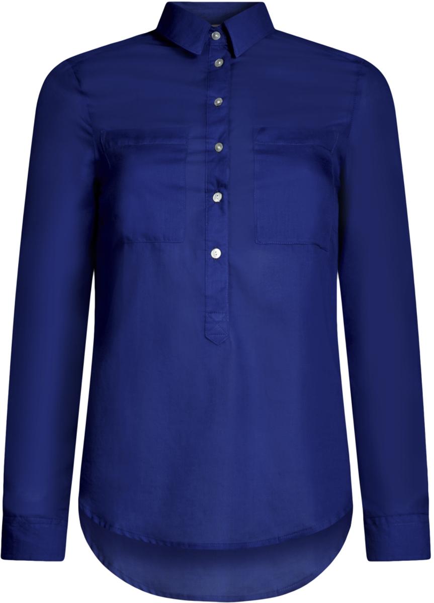 Блузка11411101B/45561/2900NРубашка хлопковая свободного силуэта
