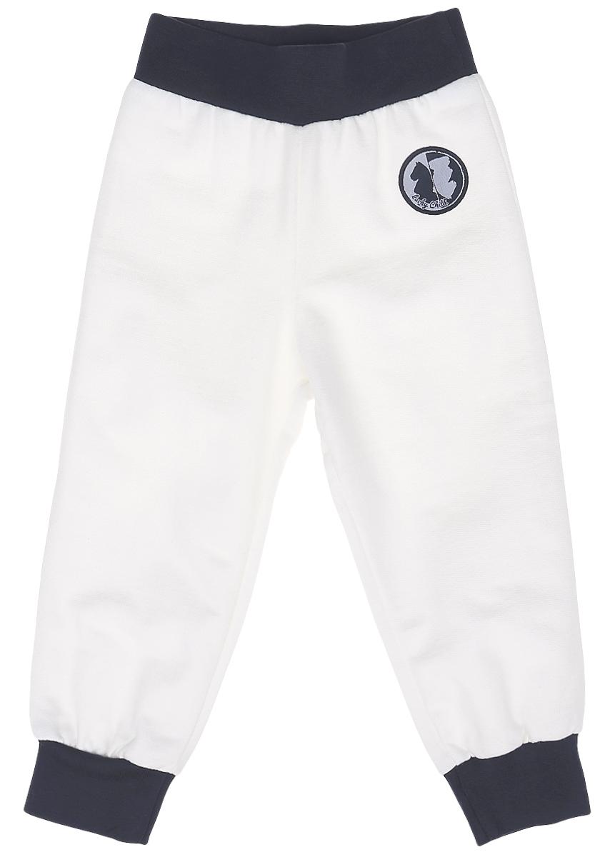 Штанишки29-11фДетские штанишки Lucky Child изготовлены из деликатного хлопкового материала - футера. Штанишки прямого кроя и завышенной посадки имеют широкую эластичную резинку на поясе. Брючины дополнены эластичными манжетами по низу.