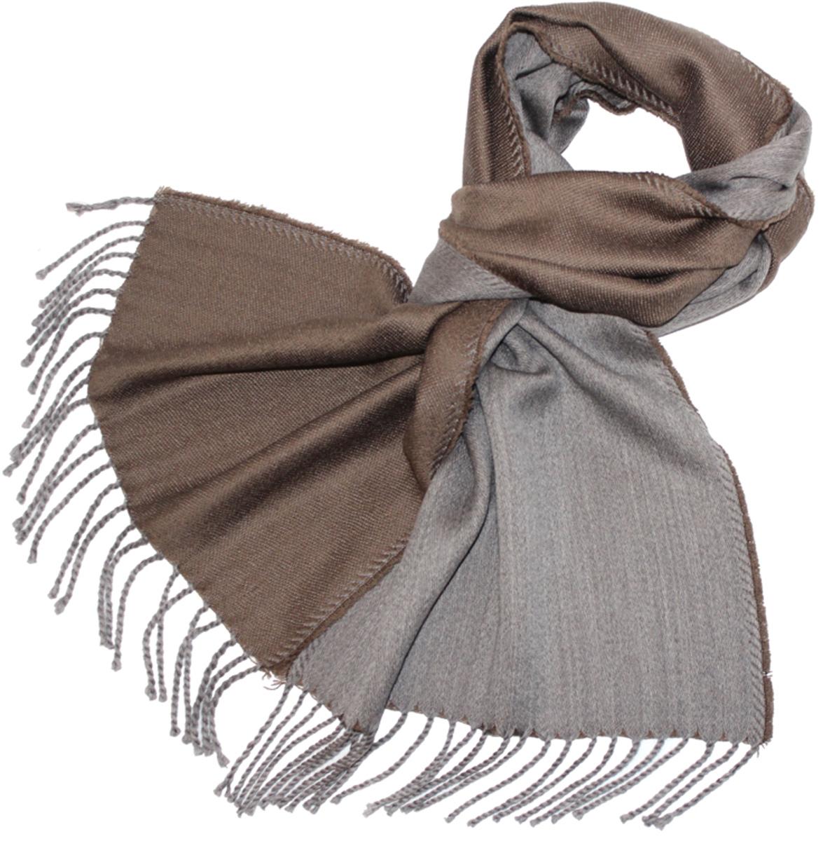 Шарф121480аМужской шарф Ethnica, изготовленный из 100% шерсти, подчеркнет вашу индивидуальность. Благодаря своему составу, он легкий, мягкий и приятный на ощупь. Изделие выполнено в лаконичном двухцветном дизайне и дополнено кисточками. Такой аксессуар станет стильным дополнением к вашему гардеробу.