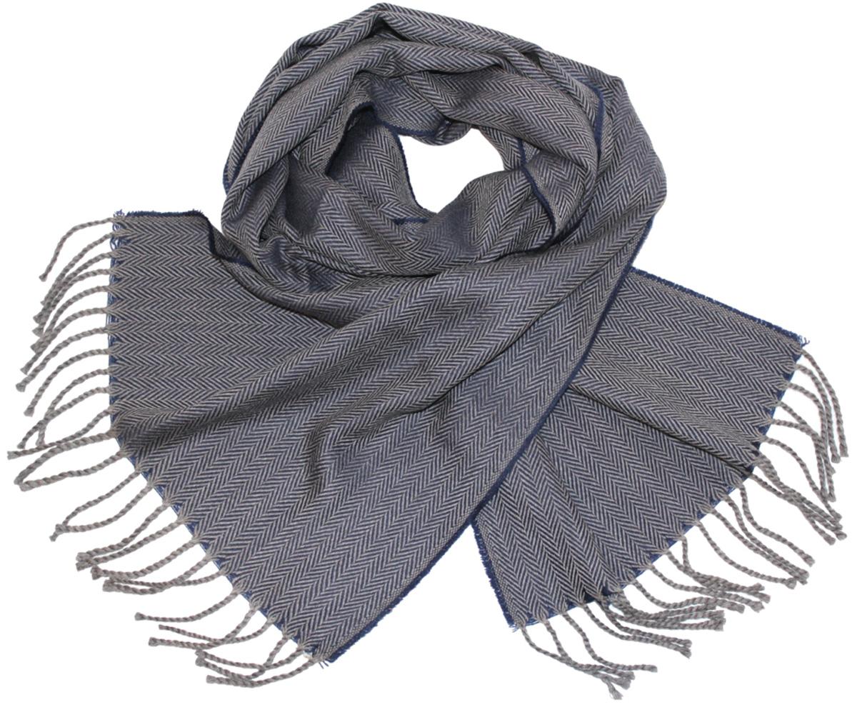 Шарф122510aМужской шарф Ethnica, изготовленный из 100% шерсти, подчеркнет вашу индивидуальность. Благодаря своему составу, он легкий, мягкий и приятный на ощупь. Изделие выполнено в строгом дизайне, дополнено орнаментом и кисточками. Такой аксессуар станет стильным дополнением к вашему гардеробу.