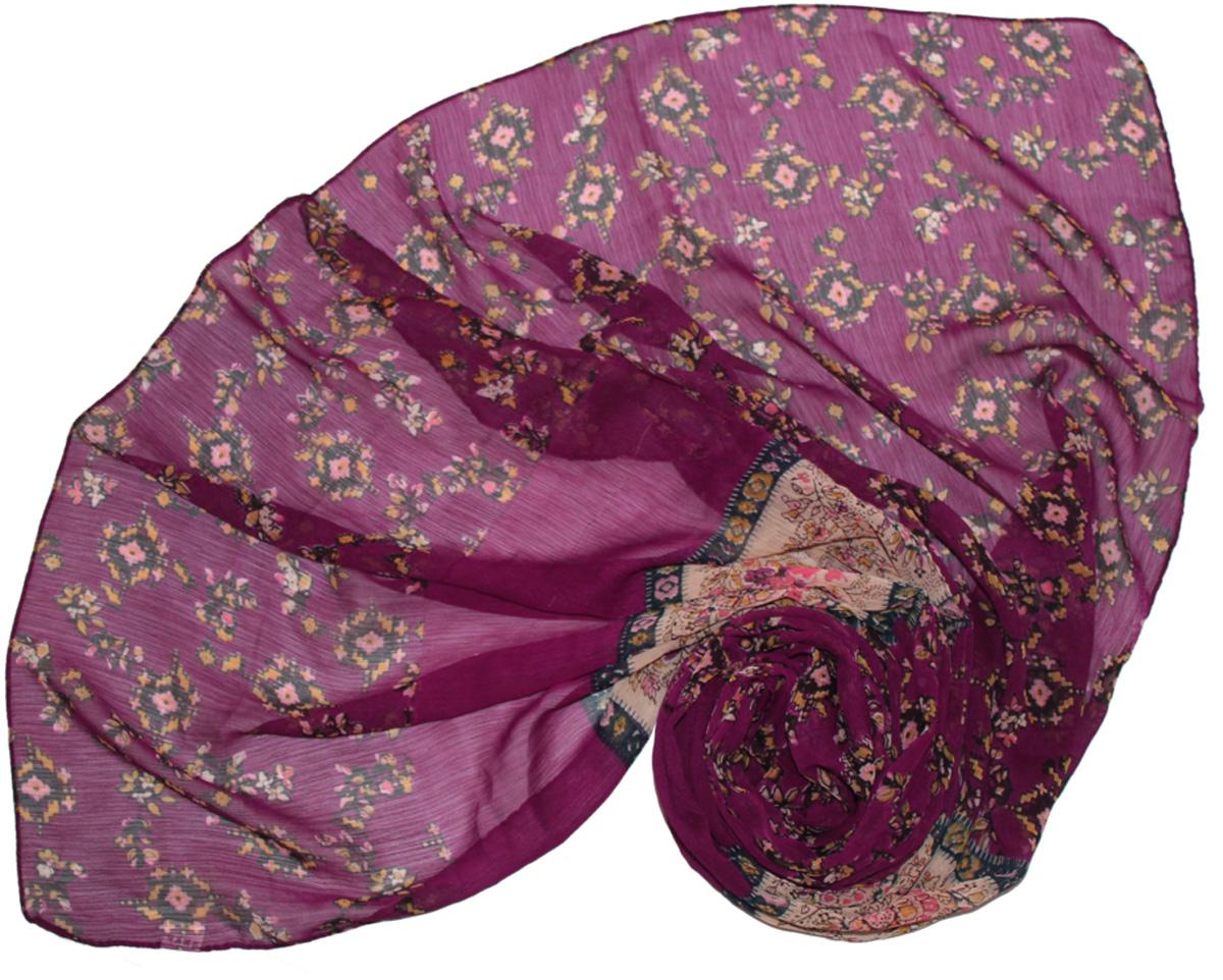 Шарф262040Женский шарф Ethnica, изготовленный из 100% вискозы, подчеркнет вашу индивидуальность. Благодаря своему составу, он легкий, мягкий и приятный на ощупь. Изделие оформлено оригинальным принтом. Такой аксессуар станет стильным дополнением к гардеробу современной женщины.