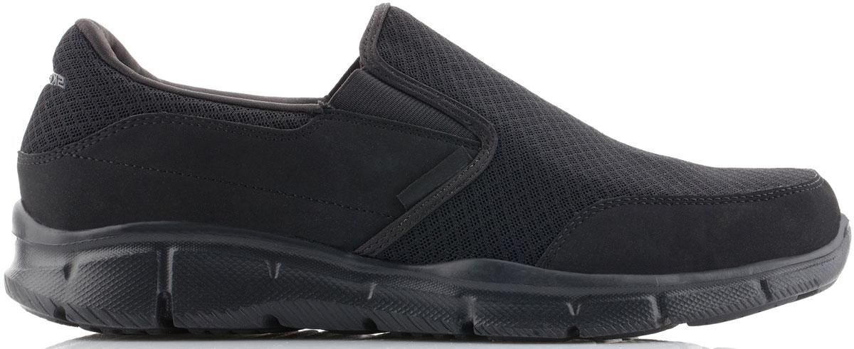 Кроссовки51361-BBKСтильные мужские кроссовки Skechers отлично подойдут для активного отдыха и повседневной носки. Верх модели выполнен из текстиля. Благодаря эластичным вставкам на подъеме кроссовки удобно надевать. Подошва обеспечивает легкость и естественную свободу движений. Мягкие и удобные, кроссовки превосходно подчеркнут ваш спортивный образ и подарят комфорт.