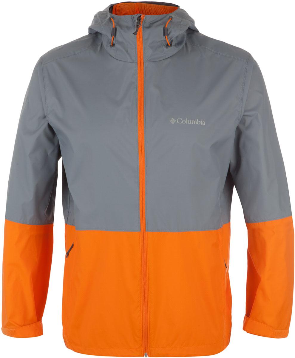 Ветровка1580231-023Легкая мужская куртка Columbia подойдет для походов и активного отдыха, защитит от непогоды и гарантирует комфорт все то время, что вы проведете на свежем воздухе. Ткань обработана водоотталкивающей пропиткой. Куртка упаковывается в собственный карман. Регулируемые манжеты и низ изделия обеспечивают максимальный комфорт во время носки. Карманы застегиваются на молнии для надежного хранения мелких вещей.